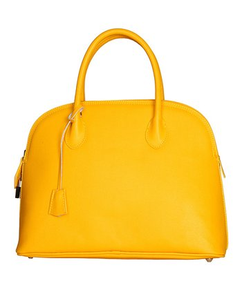 Yellow Siena Satchel