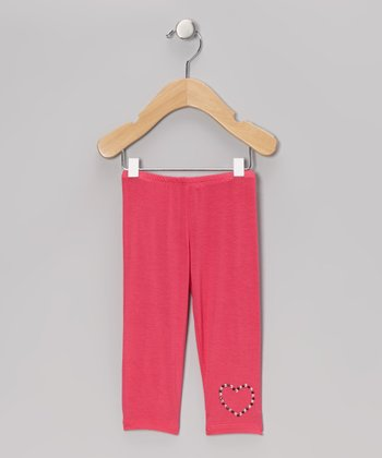 Fuchsia Capri Pants - Infant, Toddler & Girls
