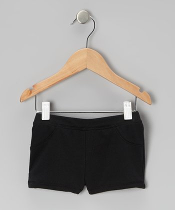 Black Shorts - Infant, Toddler & Girls