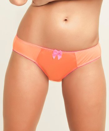 Neon Orange Dessous Sucre Bikini Briefs