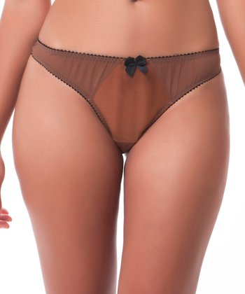American Tan Dessous Bikini Briefs