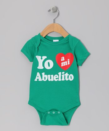 Kelly Green 'Abuelito' Bodysuit - Infant