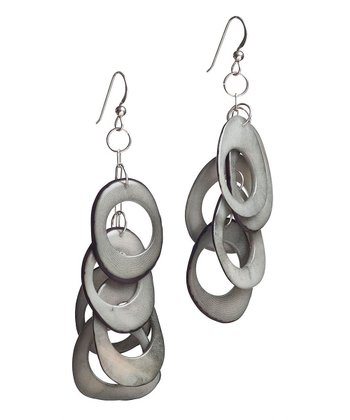 Gray Karma Earrings