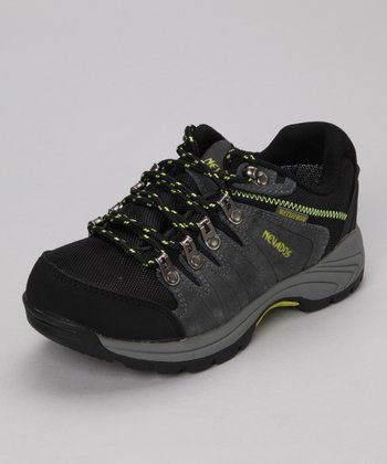 Steel & Lime Grand Low All-Terrain Shoe - Kids