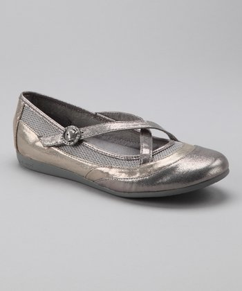 Silver & Gold Rhinnie Flat - Women