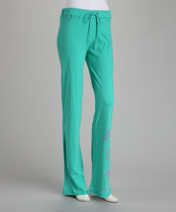 Teal Jersey Lounge Pants