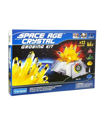 Space Age Crystals: Grow 13 Crystals Deluxe Kit