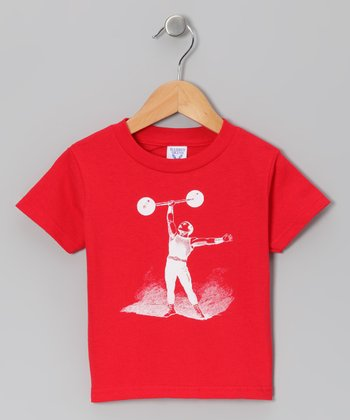 Red Circus Performer Tee - Toddler & Kids