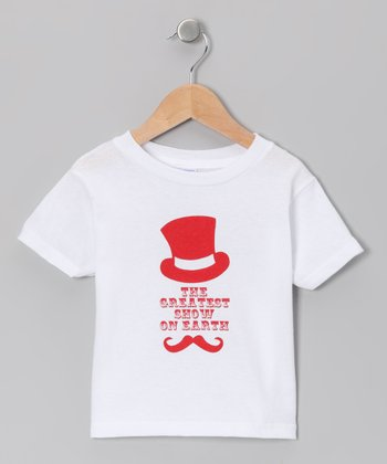 White 'The Greatest Show on Earth' Tee - Toddler & Kids