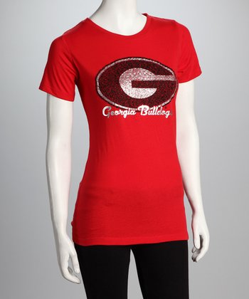 Red Georgia Kathy Tee