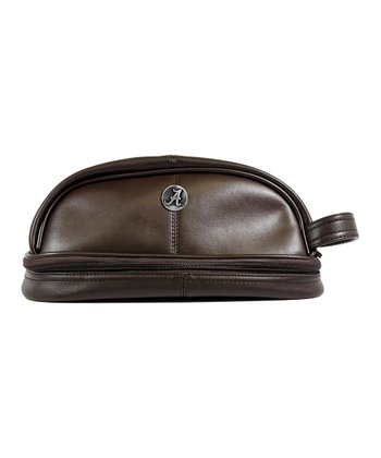 Brown Alabama Crimson Tide Toiletry Bag