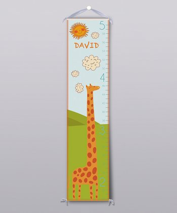 Happy Giraffe Personalized Growth Chart