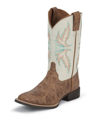 Tan Puma Cowboy Boot - Girls