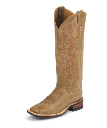 American Tan Bent Rail Cowboy Boot - Women