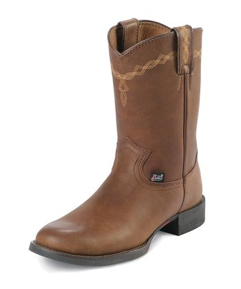 Coffee Brown George Strait Cotulla Cowboy Boot - Women