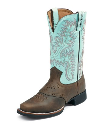 Bay Apache AQHA Foundation Cowboy Boot - Women