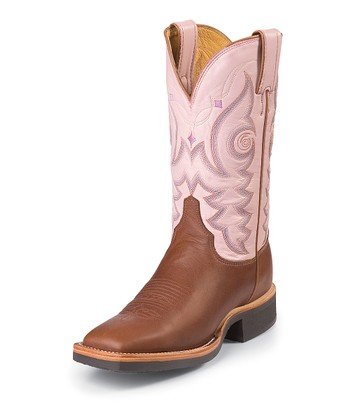 Brittle Brown AQHA Cowboy Boot - Women