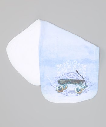 Baby Blue Toys Vintage Burp Cloth