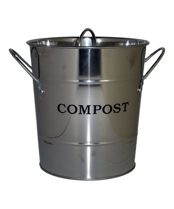 Stainless 'Compost' Kitchen Bucket