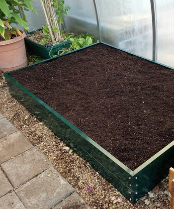 Green Electrostatic Raised Bed