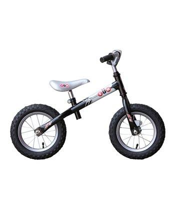 Black & Silver SX Balance Bike