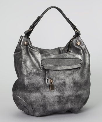 Black Metallic Hobo