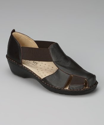 Brown Elke Shoe