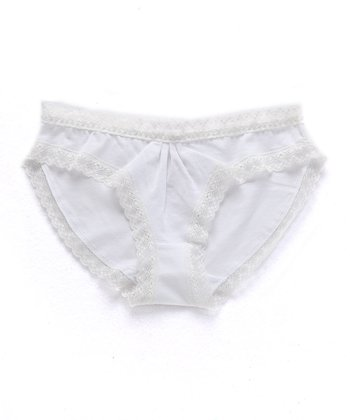 White Jenny Briefs