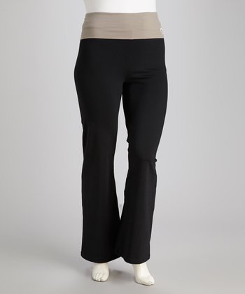 Driftwood Fold-Over Yoga Pants - Women & Plus