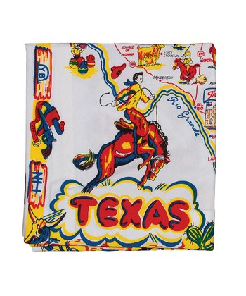 'Texas' Napkin - Set of Four