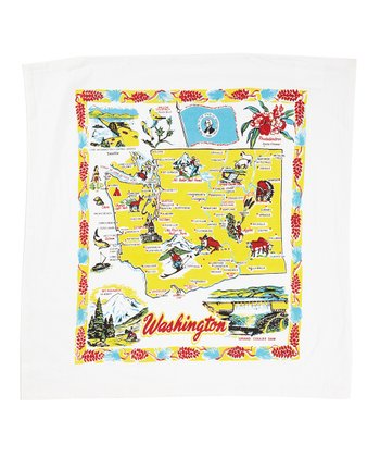 'Washington' Flour Sack Towel - Set of Two