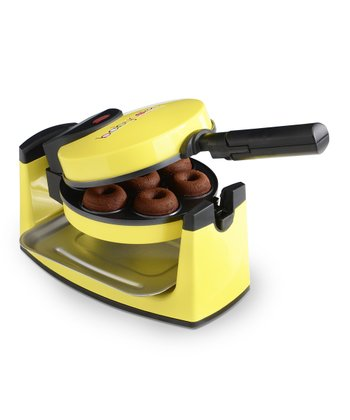 Yellow Mini Donut Maker