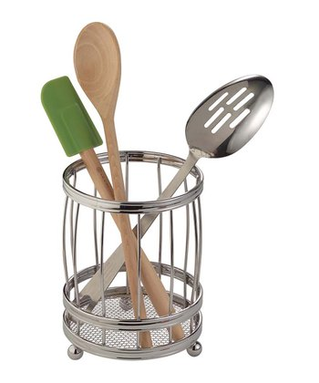 Lyra Chrome Utensil Holder