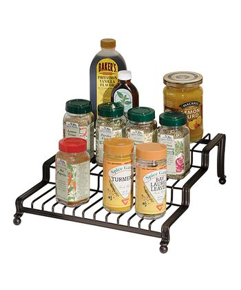 Bronze Spice Rack