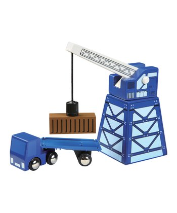 Transport Truck & Crane Set