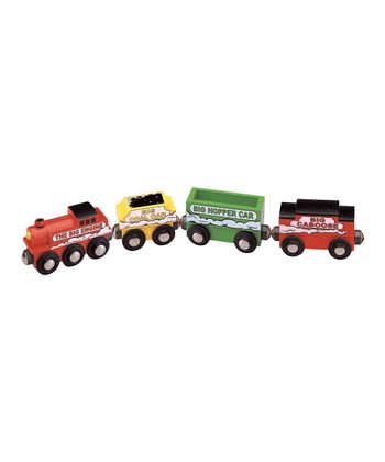 Big Engine & Cars Set