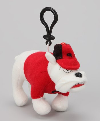 Georgia Mascot Key Chain