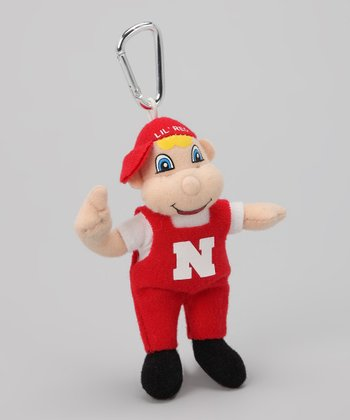 Nebraska Mascot Key Chain
