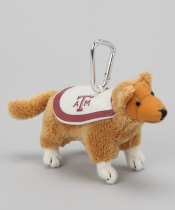 Texas A&M Mascot Key Chain