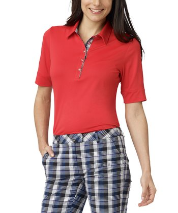 Scarlet Manhattan Polo - Women