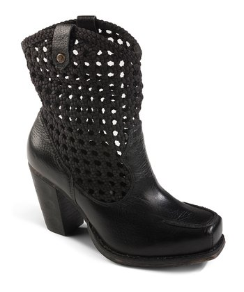 Black Short Salad Boot