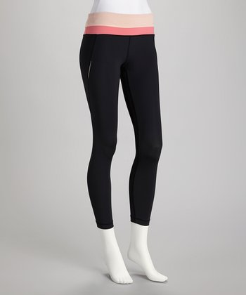 Peach & Coral Excel Performance Leggings
