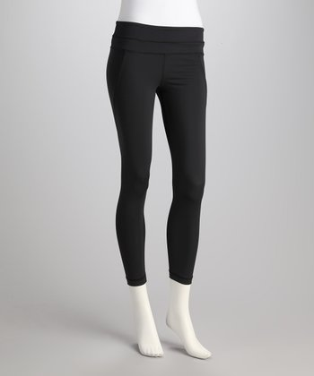 Black Excel Performance Leggings