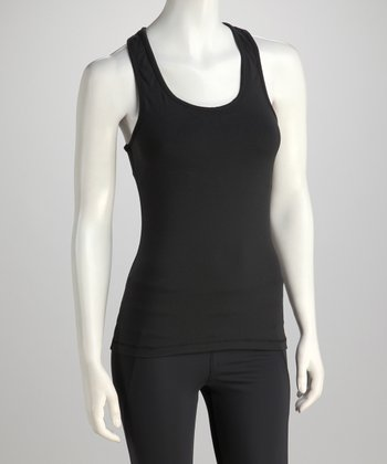 Black Fly Racerback Tank