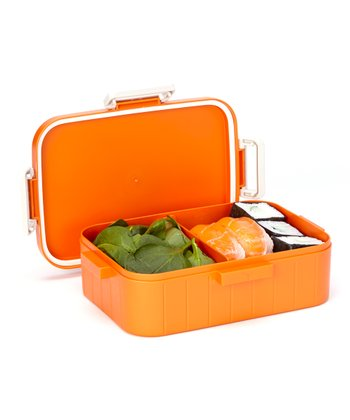 Orange Large Locking Bento Box