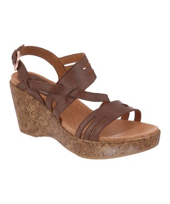 Chestnut Frankie Wedge Sandal