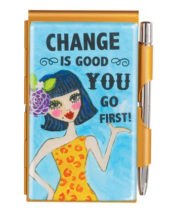 'Change is Good' Notepad Set