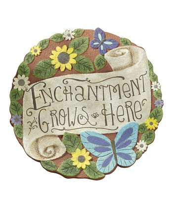 'Enchantment Grows Here' Stepping Stone