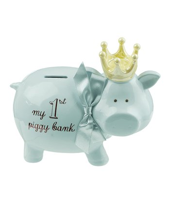 Blue Prince 'My 1st Piggy Bank' Ceramic Bank