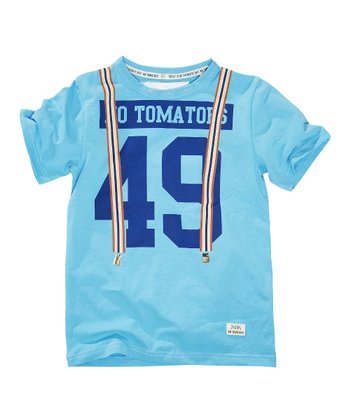 Flash Aqua Bob '49' Tee - Boys